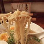 熟成細麺 宝屋 - 麺