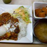 チカショク さくら  - MIX豆トマトカレー定食(\560)
