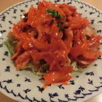 シータラ - チキンピリ辛サラダ380円