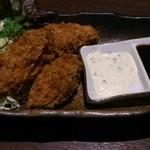 地魚と百日地鶏 大 - カキフライ