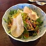 プリムローズ - カレーセット ¥1890 サラダ