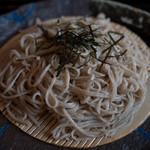 水舎 - 粗挽き蕎麦