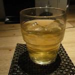 京都 五行 - 桃の緑茶