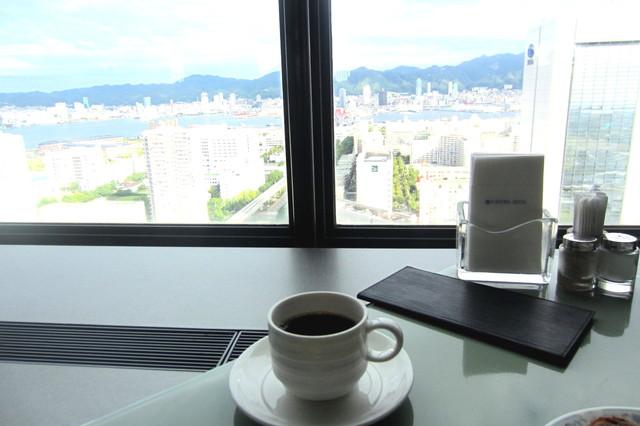スカイグリルブッフェGOCOCU - 神戸の風景眺めながらのんびり珈琲タイム。。2時間ほど^^;