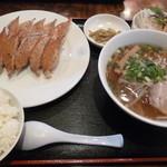 敦煌 - 餃子ランチ