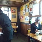 中華そば 麺や食堂 本店 - 昭和の看板