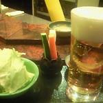 京風串揚げ 宗 - まずは生ビール