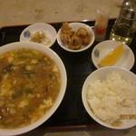 姫燕 - ロウ麺定食