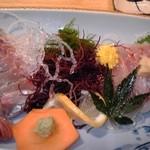 磯料理 開福丸 - 鯵たたき定食
