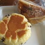 ALDE - 右上:お好み焼きパン