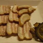 びすとろ海畑 - 豚の塩漬け