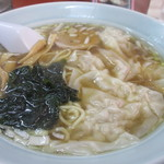 ラーメン ふじ - ワンタン麺 500円