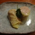 17485891 - 豚挽肉と春きゃべつの蒸し物