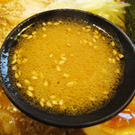羅妃焚  - 味噌ラーメン(730円)スープ