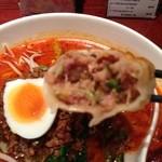 香港食市場 - 2013年2月24日坦々麺と特大餃子3個