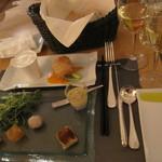 17488811 - 夕食~7000円のコースの前菜