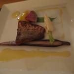 17488827 - 夕食~7000円のコースのお魚料理
