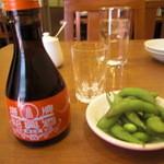 miyamahanten - 美山飯店 紹興酒&突き出し
