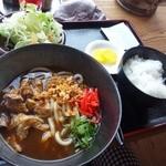 17490365 - カレーうどん定食(1,000円)