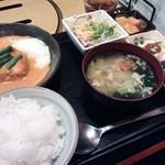 17492427 - 韓国風ハンバーグ定食