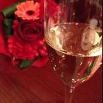 オー・グルマン - 乾杯はシャンパーニュで♡