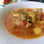 ペーシェルーナ - <移転前>若鶏と野菜のスペッツァティーノ