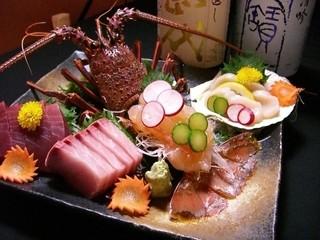 升亀 - 鯛しゃぶと伊勢海老の豪華なコース飲み放付き5800円