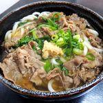 麺八 - 肉うどん大
