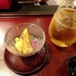 17495295 - うぐいすとまり梅酒ソーダ割り:500円('13.02月より)