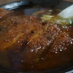 味処 じんべ - 料理写真:かつラーメン