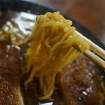 味処 じんべ - 麺
