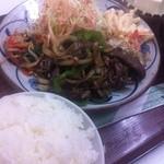 キッチンタイム - 牛焼肉定食\550