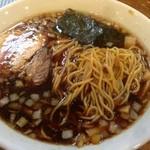 らぁめん響 - 乾麺では無く生麺