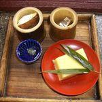 炭火焼 円相 - 前菜