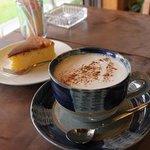 樹林 - 料理写真:コーヒーと手作りチーズケーキのセット
