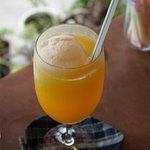 樹林 - 屋久島産のフルーツで作ったジュースにアイスをフロート