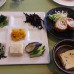 まきいさんちの食堂 - 和風ランチ
