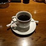 駒八 - ランチ(800円)につくコーヒー