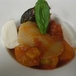 BITTO - BITTO定番!6種類のトマトを使ったソースと水牛のモッツァレラチーズのパスタ