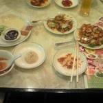 17500418 - 料理の数々(北京ダック、ふかひれスープ、点心、野菜炒め)
