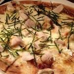 sumiyakigochisouyabanchoushouten - 照焼きチキンのピザ