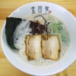 金田家 さくら亭 - 黒豚ラーメン700円♪