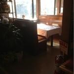 甲寿司 - テーブル席