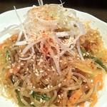 立呑み厨房 いち - 2013.2.7 糸こんにゃくのチャプチェ 250円