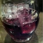 立呑み厨房 いち - 2013.2.7 かち割りワイン・赤250円