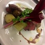 大名ワインバルAce - 本日のお肉料理から。A5ランクの和牛のサガリが780円でした。(掲載承諾済み)