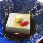 正月屋吉兆 - 胡麻豆腐