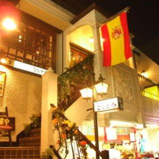 スペイン坂の由来のお店。レトロでインスタ映えするお店。