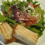 エスプレッソバー レガーレ - 前菜 振りかけられたチーズもとっても美味