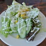 17503354 - サラダ。レタスをメインに新鮮なお野菜達。